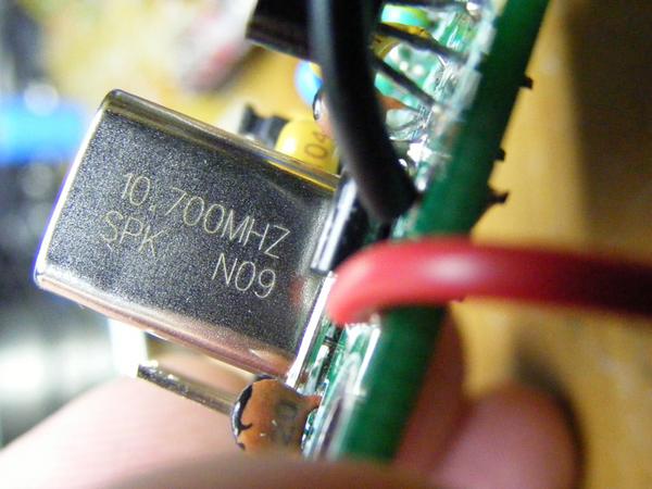 10.7Mhz Crystal Oscillator