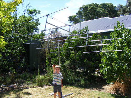 Backyard radio telescope