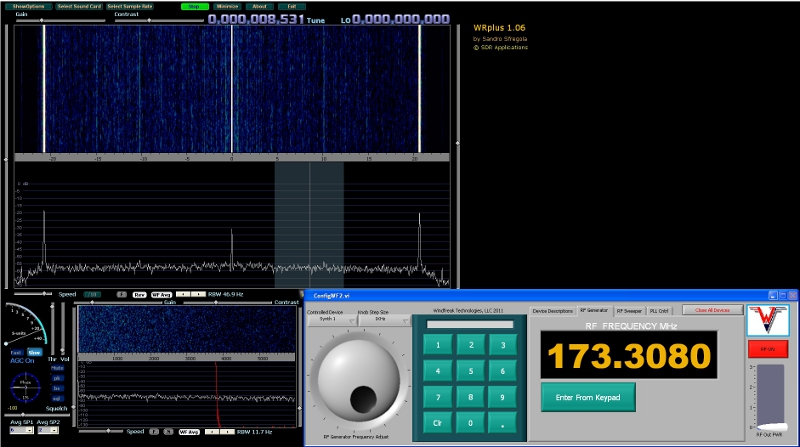 SDR 173.308Mhz