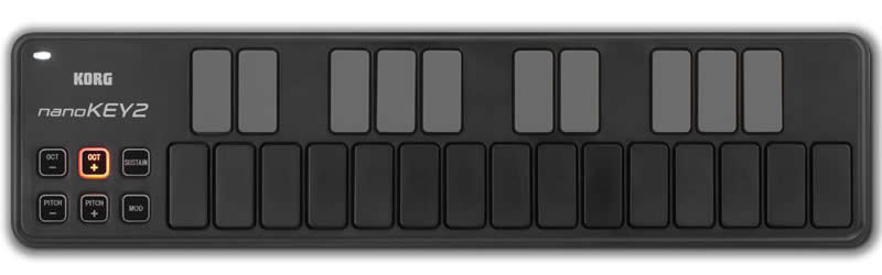 Korg NanoKey2 USB Midi Keyboard