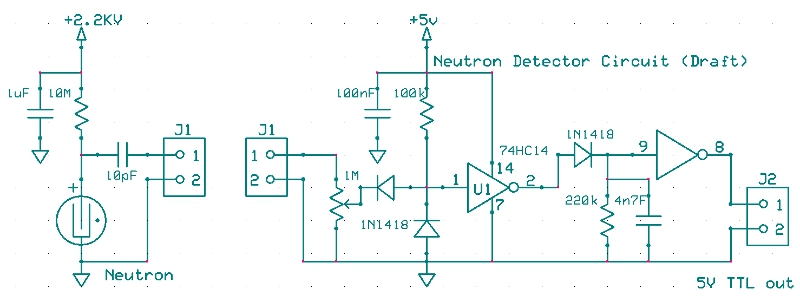Draft Neutron Detector Circuit