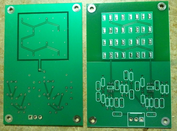 Pin Diode Array Amplifier Stage PCB
