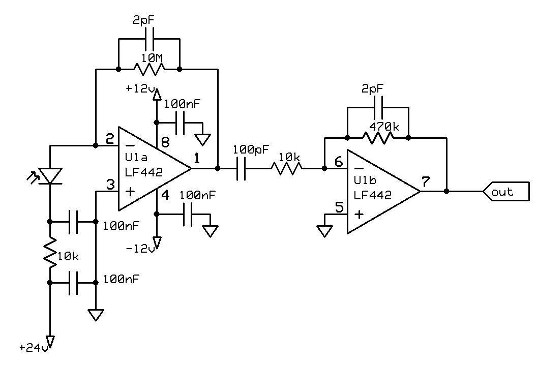 Gamma Detector Circuit